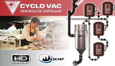 Odkurzacze centralne CYCLO VAC